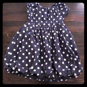 Old Navy polka dot dress small 5T